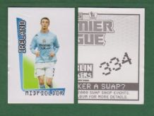 Manchester City Stephen Ireland Eire 334
